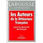 Les auteurs de la littérature française
