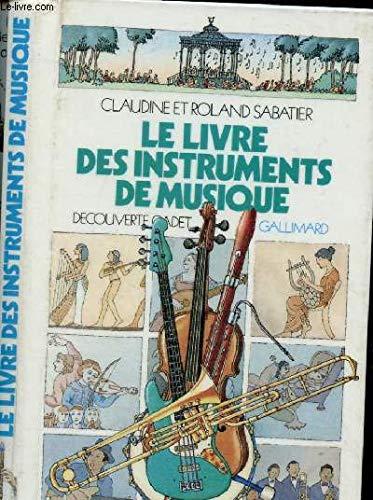 Le livre des instruments de musique