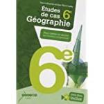Etudes de cas, géographie 6e